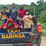 """Taxi Babinsa"" di Kutai Timur Dukung Ketahanan Pangan"