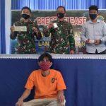 TNI AL Tangkap Pengedar Sabu yang Dikendalikan Napi Lapas Nunukan