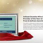 Indosat Ooredoo Sabet Frost & Sullivan Best Practices Award, Provider Terbaik 2020