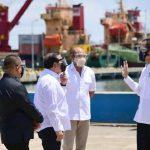 Presiden Jokowi Tinjau Penataan Kawasan dan Pembangunan Terminal Multifungsi di Labuan Bajo
