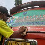 Branding di Angkot, Mudahkan Warga Lapor Penyalahgunaan Narkotika ke BNN Kaltim