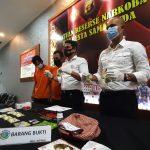 Polisi Tangkap 4 Orang di Samarinda, 928 Butir Ineks Gagal Edar