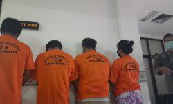 Empat Remaja Samarinda Dipenjara Gegara Jual Teman ke Pria Hidung Belang