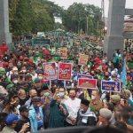Polisi Siap Mediasi Perwakilan Pendemo UU Cipta Kerja Temui Pihak Pemerintah