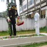 Kenang Pejuang, Korem 091/ASN Ziarah ke Makam Pahlawan Kusuma Bangsa