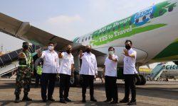 BNN dan Citilink Lanjutkan Kerjasama P4GN, Pasang Logo di Armada Airbus A320