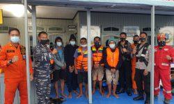 Ini 6 ABK yang Terombang Ambing di Laut Usai Kapal Karam Diterjang Ombak 3 Meter