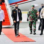 Presiden Tinjau Pengembangan Lumbung Pangan Baru dan Serahkan Sertifikat Tanah di Sumut