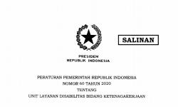 Presiden Teken PP tentang Unit Layanan Disabilitas Bidang Ketenagakerjaan