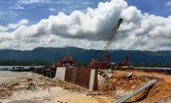 Pembangunan Dermaga Pelabuhan Teluk Sulaiman Selesai Akhir Tahun