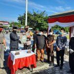Pengamanan Pilkada, Pemkab Berau BKO-kan 1.408 Linmas ke Polres