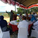Sekda Kukar, Sunggono Tinjau Kawasan Hanpangan di Desa Tanjung Batu