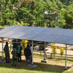 Listrik Energi Surya Terangi 9 Pos Jaga di Perbatasan Papua