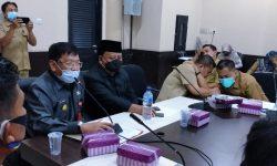 Soal UMK, Pjs Bupati Fasilitasi Pertemuan FKUI-SBSI dengan Disnakertrans