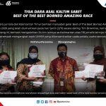 Tiga Dara Asal Kaltim Sabet Best Of The Best Borneo Amazing Race