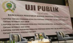 Komisi II DPRD Kaltim Gelar Uji Publik 3 Raperda, Target Disahkan Desember