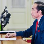 Presiden Jokowi Hadiri KTT APEC 2020 secara Virtual