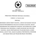 Efisiensi, Pemerintah Bubarkan 10 Lembaga Nonstruktural