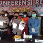 Polres Nunukan Amankan 2 Kg Shabu, Kurir Dari Tarakan dan Tana Tidung