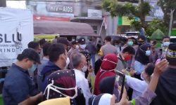 Bawaslu Samarinda Sedang Mengambil Keterangan dari Kuasa Hukum Paslon No 3