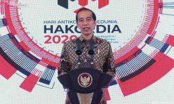Presiden Jokowi Ingatkan Pemberantasan Korupsi Tak Boleh Padam