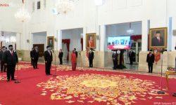 Presiden Jokowi Lantik Menteri & Wamen Kabinet Indonesia Maju, Ini Nama-namanya
