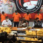 Tersangka Pemilik 202 Kg Shabu Terkait Jaringan Timur Tengah