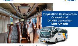 DAMRI Gencarkan Safe On Bus