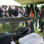 Pangdam Mulawarman Pastikan Kesiapan 450 Prajurit Yonif 611/Awl Jaga Kedaulatan di Papua