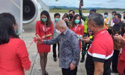 Diangkut Air Asia, Lebih 14 Ton APD Milik Pemprov Kaltim Tiba di Samarinda