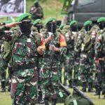 Waasops Panglima TNI di Hadapan 450 Prajurit Yonif 611/Awl : Pulanglah dengan Kebanggaan