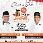 Muswil PKS Kaltara, 8 Orang Maju Calon Ketua DPW