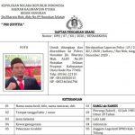 Diduga Terlibat Kasus 2 Kg Sabu, Anggota DPRD KTT jadi Buron Polisi