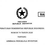 Pemerintah Terbitkan PP Tentang Lembaga Pengelola Investasi