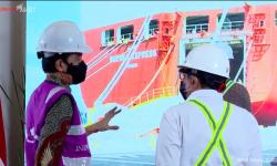 Soft Launching, Pelabuhan Internasional Patimban Ekspor Perdana 140 Unit Mobil