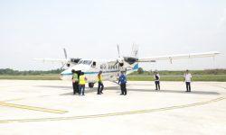11 Januari 2021, Penerbangan dengan SOA Penumpang Terbang Perdana