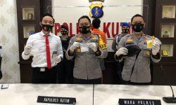 Polres Kutim Berhasil Amankan Pemuda Pengedar 122,96 Gram Sabu