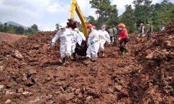 Total 16 Orang Meninggal Dunia pada Bencana Longsor di Sumedang
