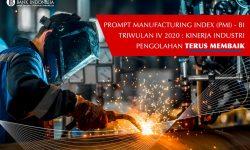 BI: Triwulan IV 2020 Kinerja Industri Pengolahan Terus Membaik