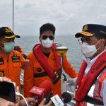 Tinjau Lagi LKP, Menhub Apresiasi Tim SAR Sriwijaya Air