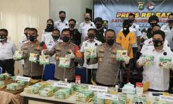 Polda Metro Jaya Temukan 44 Kilogram Sabu di Kamar Hotel di Padang
