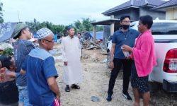 Tagana Dinas Sosial Kaltim Buka Dapar Umum di Hulu Sungai Tengah