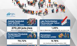 Hasil Sensus Penduduk 2020; BPS: Ada Pergeseran Penduduk Antarpulau