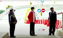Presiden Jokowi Resmikan Jalan Tol Kayu Agung-Palembang Sepanjang 42,5 Kilometer