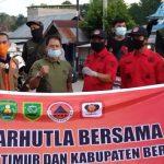 Awali 2021, BPBD Kutai Timur Patroli Gabungan Karhutla di Perbatasan