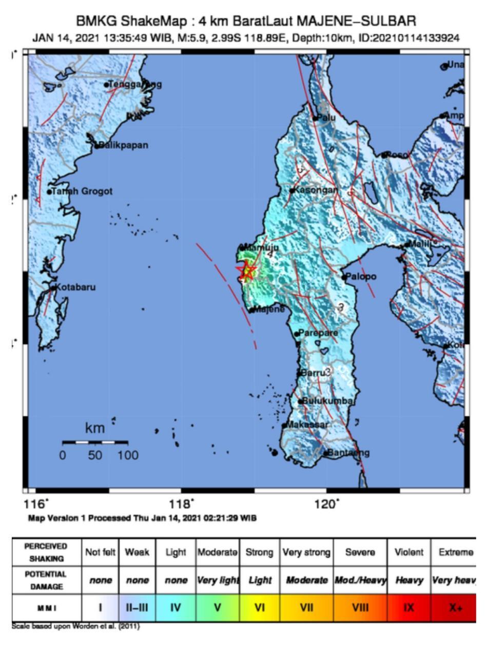Gempa Di Majene Getarannya Terasa Sampai Balikpapan Dan Paser Niaga Asia