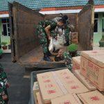 Peduli Banjir Kalsel, Korem 091/ASN Kirim Bantuan Lewat Kodim 0904/Tanah Grogot