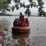 Pencarian Al Fayed di Sungai Mahakam Samarinda Sempat Terkendala Hujan Deras