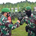 Yonif 611/Awl Tugas di Perbatasan RI-PNG, Pangdam: Jaga Nama Baik!