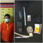 Narkoba, Polisi Gerebek Rumah di Bontang Selatan